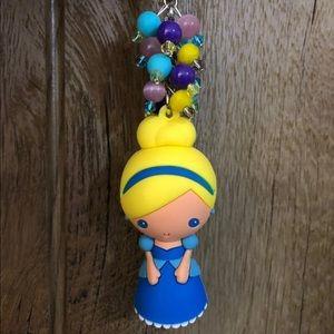 Disney Princess Handmade Diaper Bag Fob Keychain